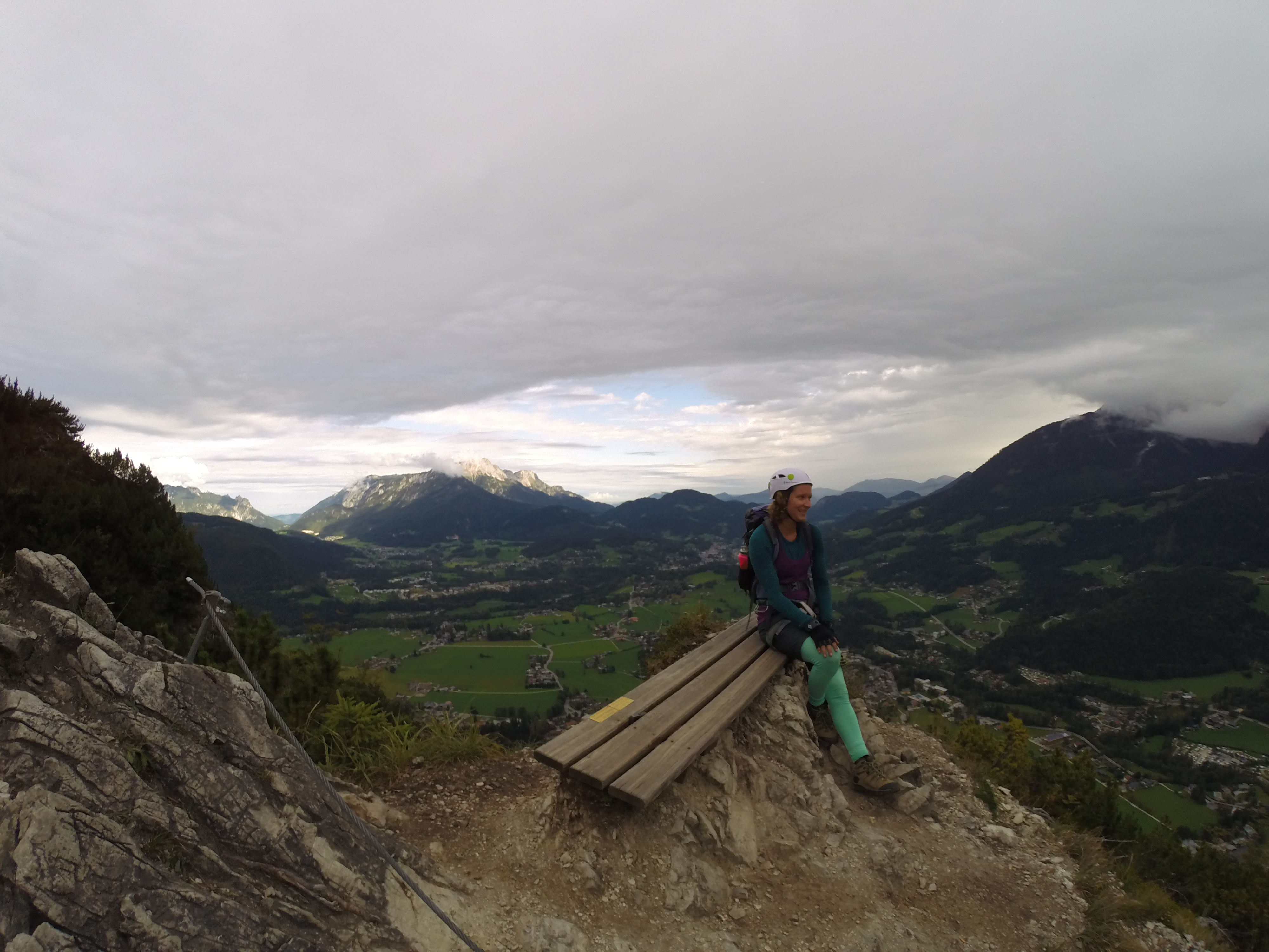 Klettersteig Königssee : Grünstein klettersteig die u edirettisimau c über dem königssee