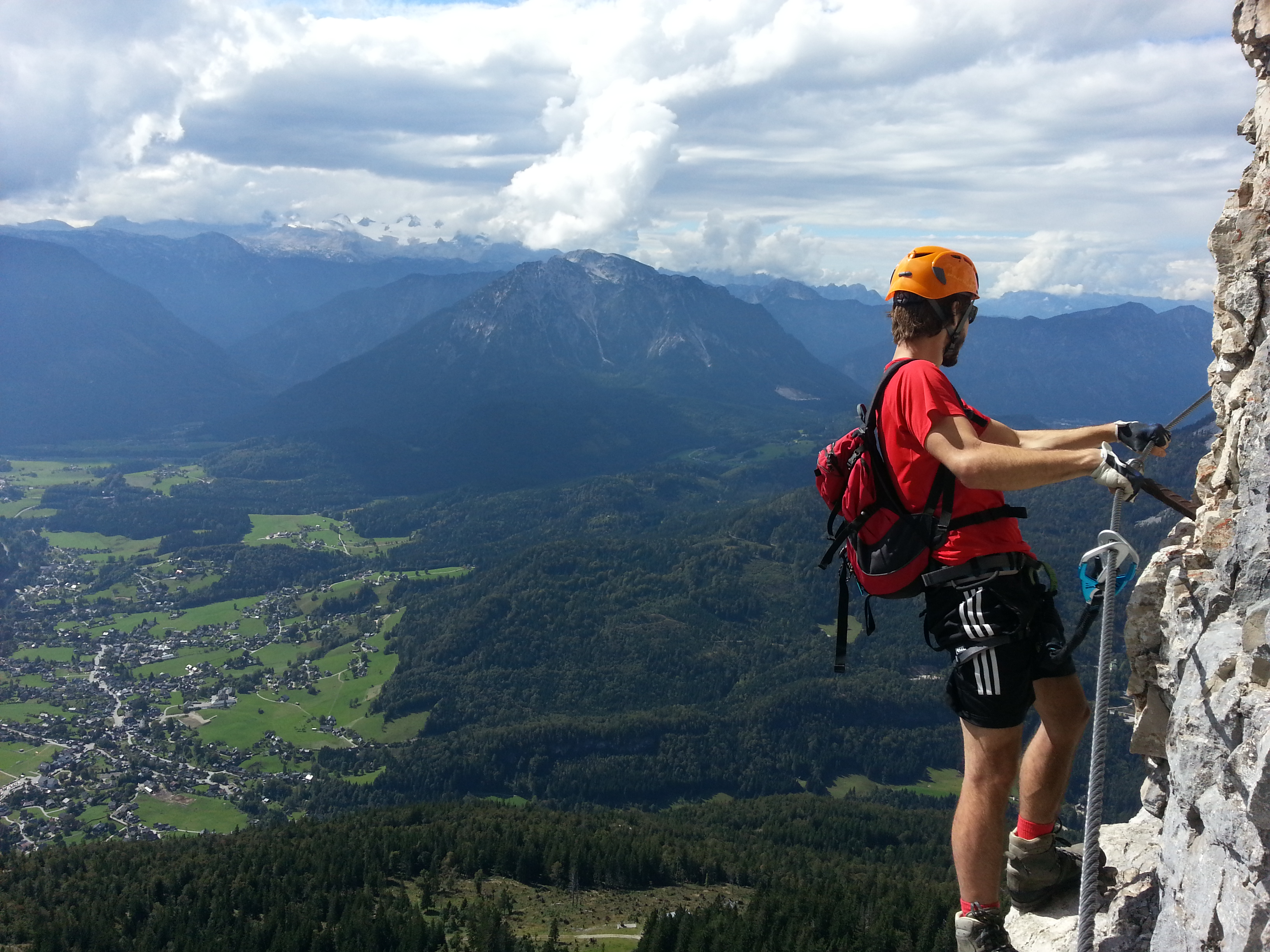 Klettersteig Fall : Klettersteig check der heini holzer b c