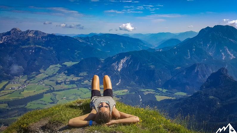Xeis Klettersteig : Drei gipfel im xeis u berghasen